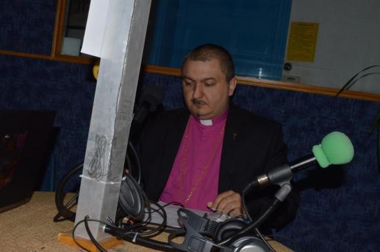 Passage en studio à la radio J600