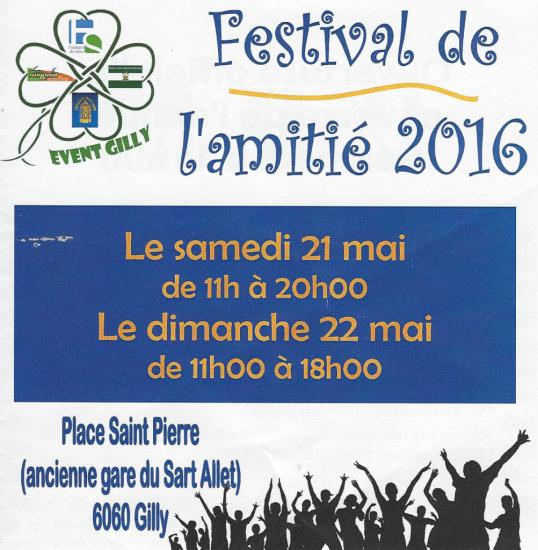 Festival de l'Amitié 2016