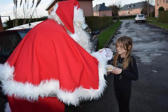 Passage du Père Noël jeudi 24 décembre 2015